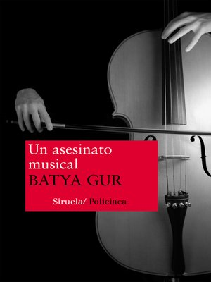 cover image of Un asesinato musical
