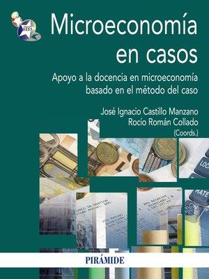 cover image of Microeconomía en casos