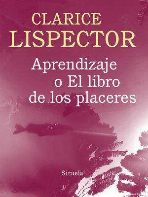 cover image of Aprendizaje o el libro de los placeres