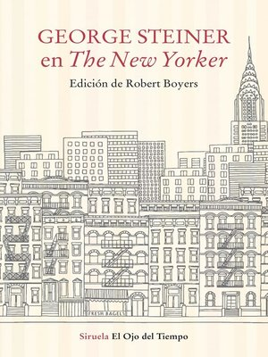 cover image of George Steiner en the New Yorker