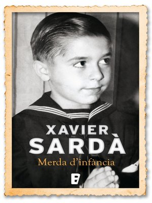 cover image of Merda d'infància