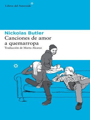 cover image of Canciones de amor a quemarropa
