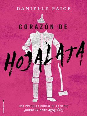 cover image of Corazón de hojalata