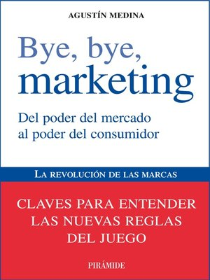 cover image of Bye, bye, marketing