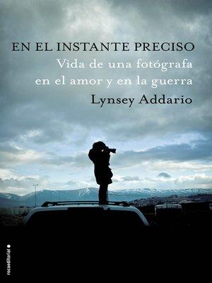 cover image of En el instante preciso