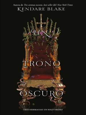 cover image of Un trono oscuro