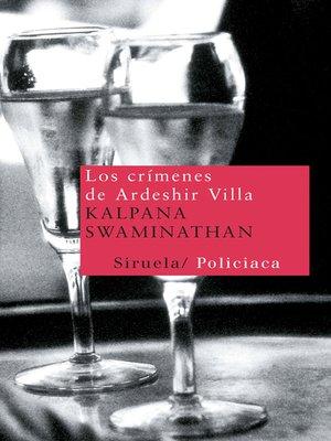 cover image of Los crímenes de Ardeshir Villa