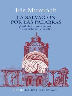 cover image of La salvación por las palabras