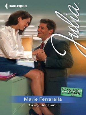 cover image of La ley del amor