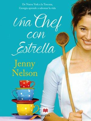 cover image of Una chef con estrella