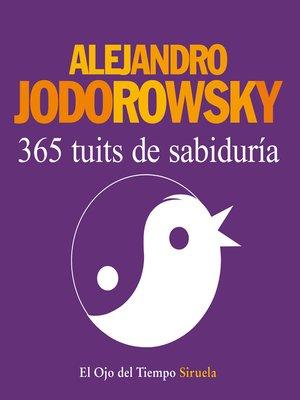 cover image of 365 tuits de sabiduría