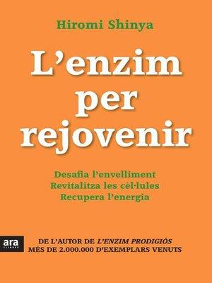 cover image of L'enzim per rejovenir