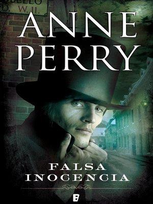 cover image of Falsa inocencia (Detective William Monk 16)