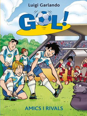 cover image of Amics i rivals