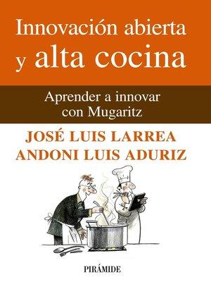 cover image of Innovación abierta y alta cocina