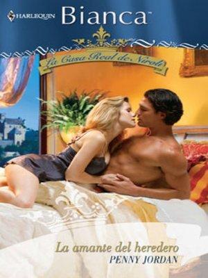 cover image of La amante del heredero