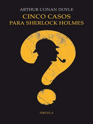 cover image of Cinco casos para Sherlock Holmes