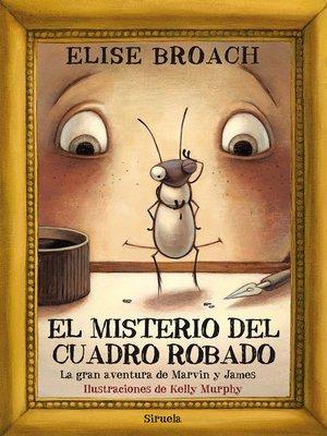 cover image of El misterio del cuadro robado