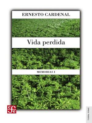 cover image of Vida perdida