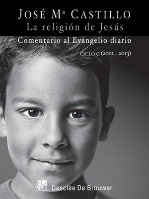 cover image of La religión de Jesús