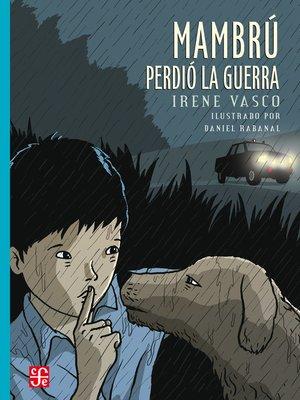 cover image of Mambrú perdió la guerra
