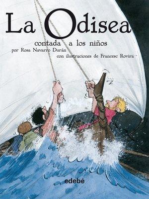 cover image of La Odisea contada a los niños