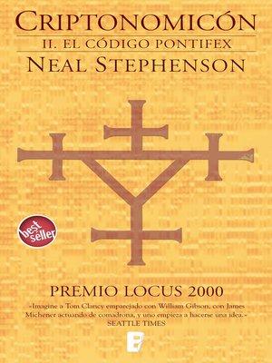 cover image of El código Pontifex (Criptonomicón 2)
