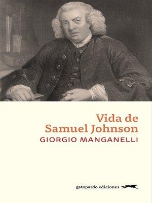cover image of Vida de Samuel Johnson