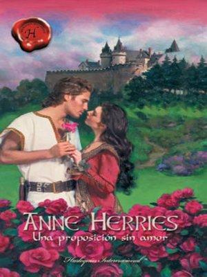 cover image of Una proposición sin amor