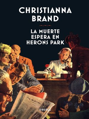 cover image of La muerte espera en Herons Park