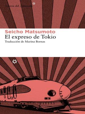 cover image of El expreso de Tokio