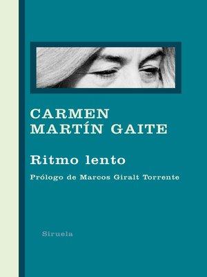 cover image of Ritmo lento