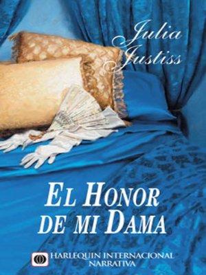 cover image of El honor de mi dama