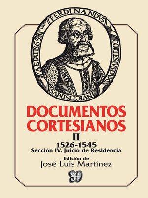 cover image of Documentos cortesianos 2