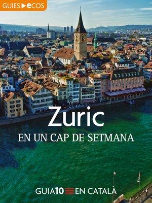 cover image of Zuric. En un cap de setmana