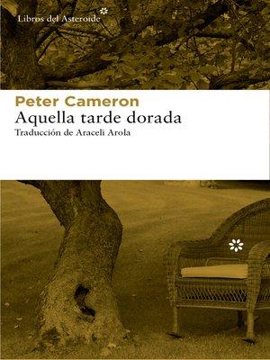 cover image of Aquella tarde dorada