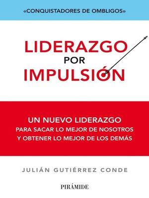 cover image of Liderazgo por impulsión