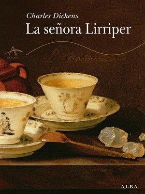 cover image of La señora Lirriper