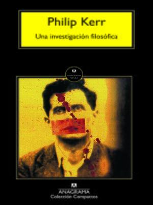 cover image of Una investigación filosófica