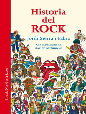 cover image of Historia del Rock