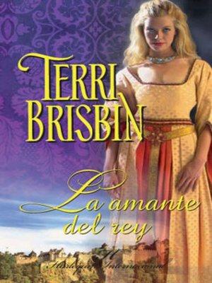 cover image of La amante del rey