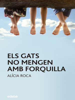 cover image of Els gats no mengen amb forquilla