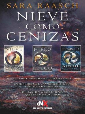 cover image of Nieve como cenizas (Trilogía)