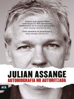 cover image of Autobiografia no autoritzada