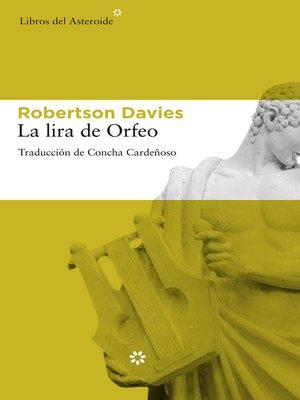 cover image of La lira de Orfeo