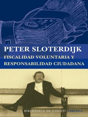 cover image of Fiscalidad voluntaria y responsabilidad ciudadana