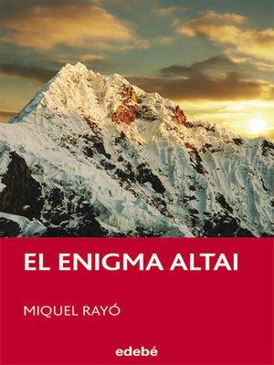 cover image of El enigma ALTAI