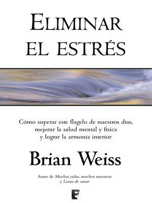 cover image of Eliminar el estrés