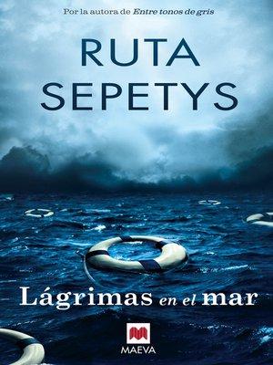 cover image of Lágrimas en el mar