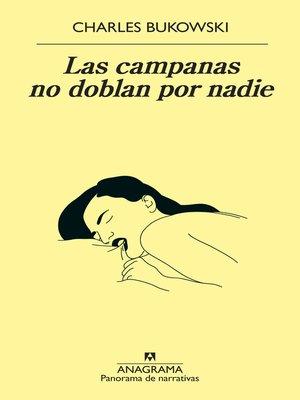 cover image of Las campanas no doblan por nadie